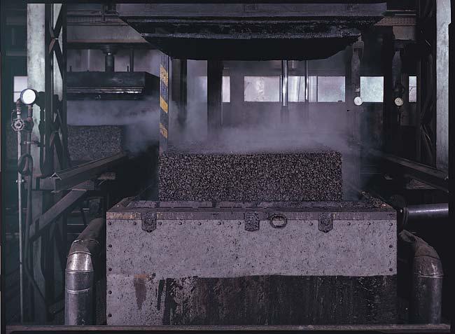 Fabrication du liège expansé