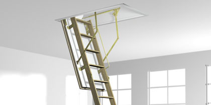 roto escalier escamotable Norm 8/            bois ISO-RC en 3 éléments