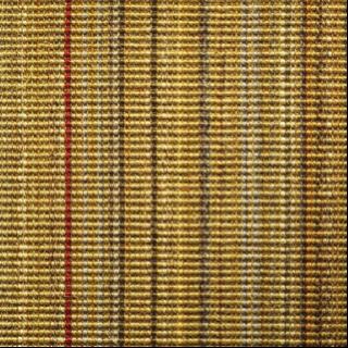 tapis Sisal ligne rouge - chevalier